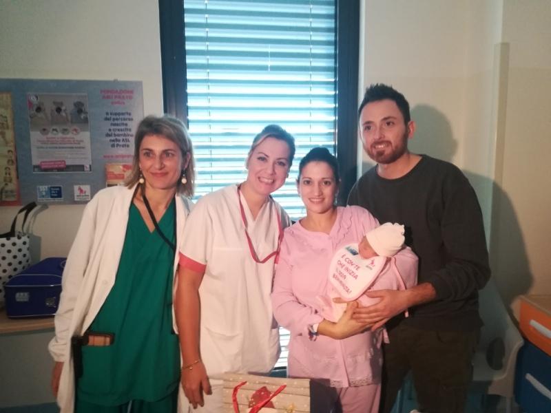 Il primo nato del 2019 a Prato