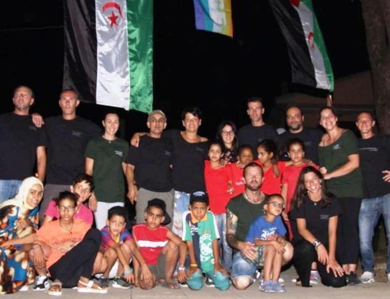 La cena a sostegno del popolo saharawi