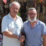 thumbnail_franco palermo fiva con il presidente della commissione duomo tarabusi