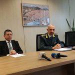 (Foto gonews.it) Procuratore Giuseppe Creazzo, Colonnello Carlo Levanti