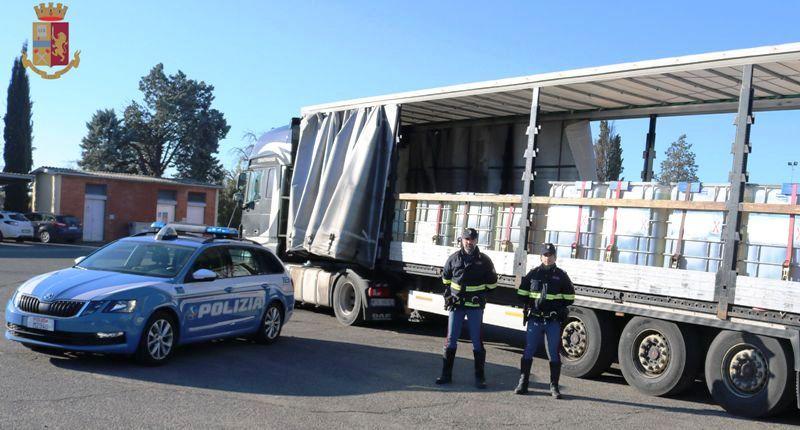 Gasolio di contrabbando, in manette un 31enne grazie alla polizia stradale di Arezzo
