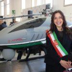 Il Vicesindaco Bonsangue all'inaugurazione del nuovo stabilimento Leonardo a Pisa