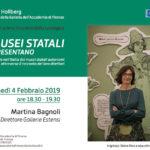 I Musei statali si presentano - invito Martina Bagnoli