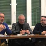 """il consigliere regionale Marco Casucci (Lega), e Marco Morbidelli, Capogruppo di """"Lista Civica"""" nel Consiglio comunale di Castelfranco Piandiscò"""