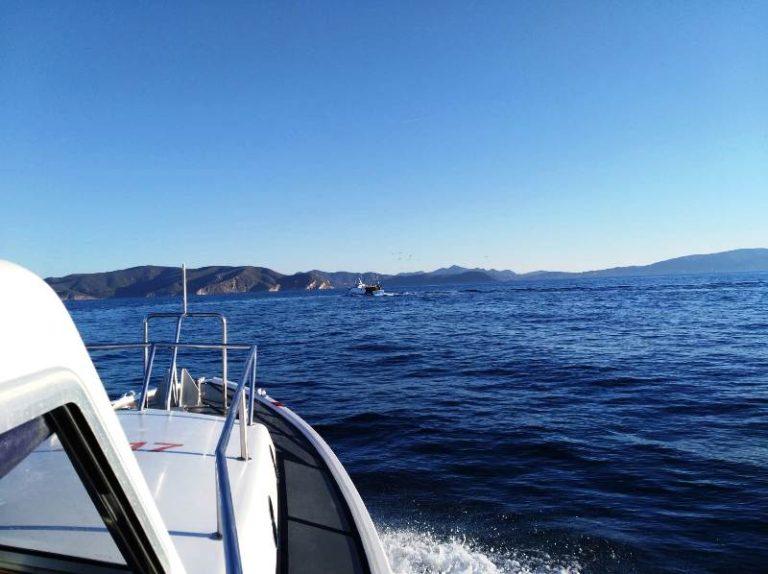 Sequestro rete peschereccio a strascico