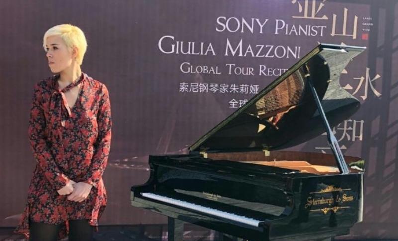 Capodanno Cinese, la pianista Giulia Mazzoni suona per Prato