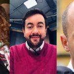 Da sinistra Susanna Ceccardi, Francesco Torselli e Stefano Mugnai