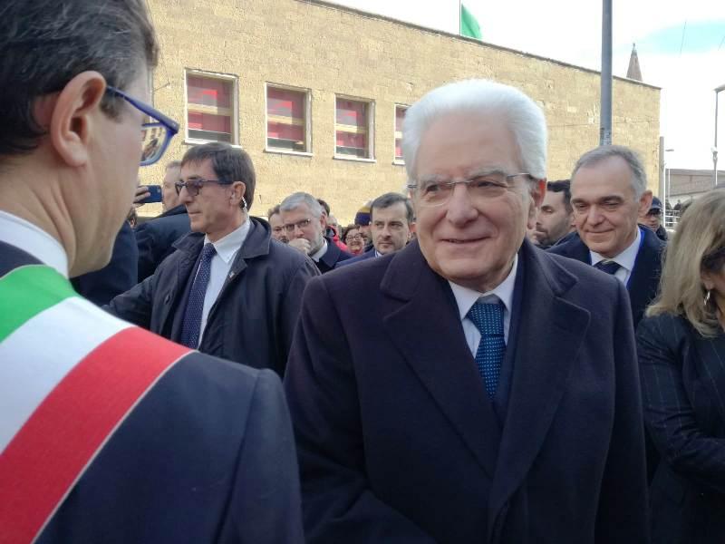 Il presidente della Repubblica Sergio Mattarella (foto gonews.it)