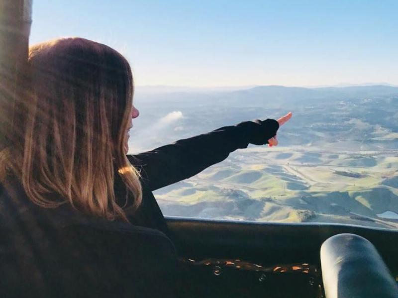 In Valdelsa in mongolfiera, volo 'sperimentale' per una proposta turistica