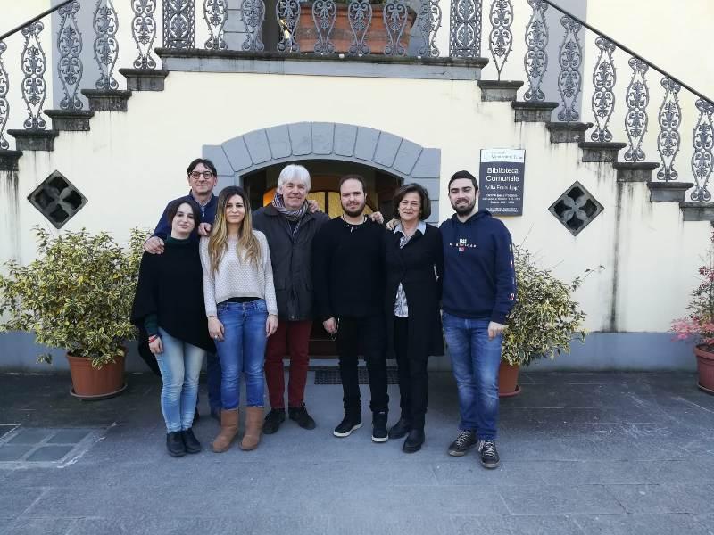 Servizio civile a Montecatini, conclusa l'esperienza di 6 giovani volontari