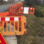 restringimento carreggiata lavori acquedotto1