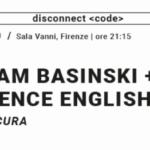 Basinski English 20 marzo