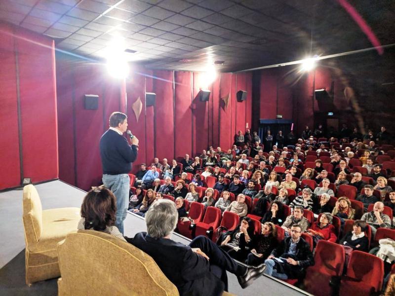 """Calenda a Pisa per la presentazione del manifesto """"Siamo Europei"""""""