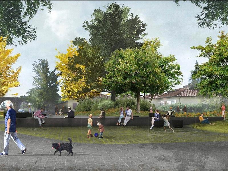 Largo Petrarca diventa una piazza verde, il vincitore del concorso di idee