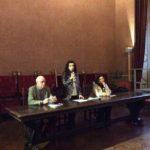 la presentazione della mostra a Siena