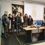 """Carlo Lucarelli al Liceo """"Montale"""" di Pontedera"""