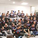 Da sx il presidente del MC Pellicorse, Giorgio Sardi, e l'istruttore della scuola Dr. Jack del Moto Club Pellicorse