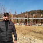 assessore Roberto Ciappi, cantiere scuola Bargino