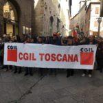 (Foto da Facebook Cgil Toscana)