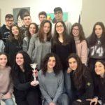 """alunni della sezione del Liceo Economico Sociale del """"Marconi"""" di San Miniato"""