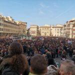 Prima manifestazione mondiale per il clima Foto dalla pagina Facebook ufficiale Cgil Firenze