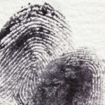 impronta digitale detective