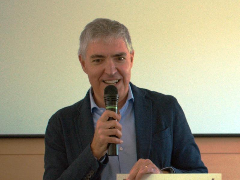 Massimo Lubello (foto Associazione Radioamatori Italiani sezione di Empoli)