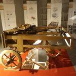 La mostra 'Leonardo & Vitruvio' (foto gonews.it)
