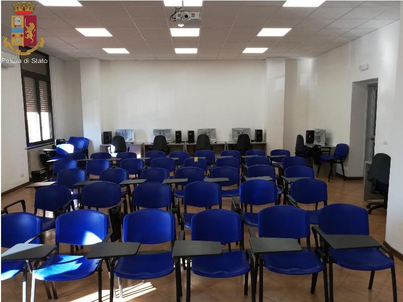 sala multimediale polizia lucca intitolata al maresciallo mussi