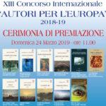 thumbnail_AUTORI PER L'EUROPA invito locandina 2019