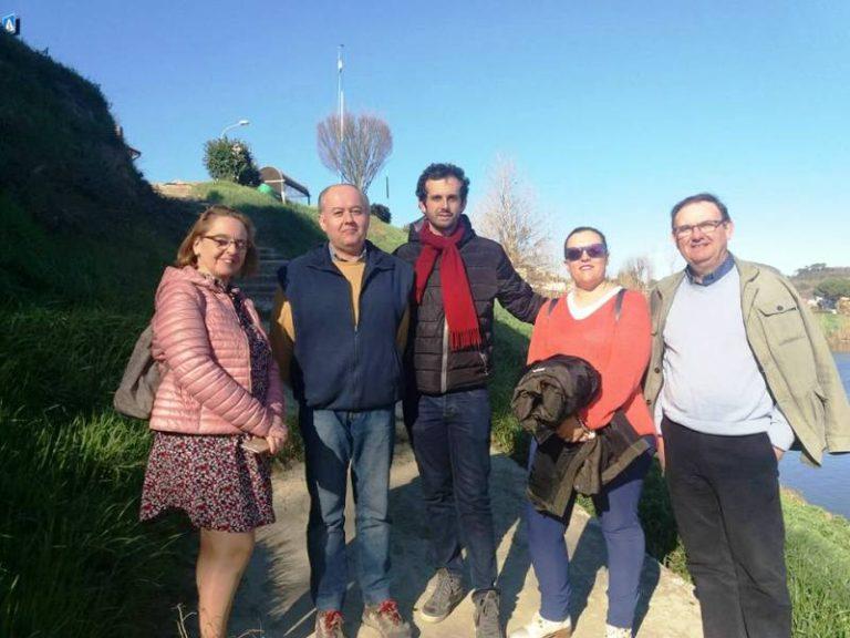 Delegazione di docenti spagnoli al Museo della Cantieristica e del Canottaggio