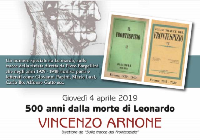 Il Frontespizio E Leonardo, Conferenza Sulla Storica