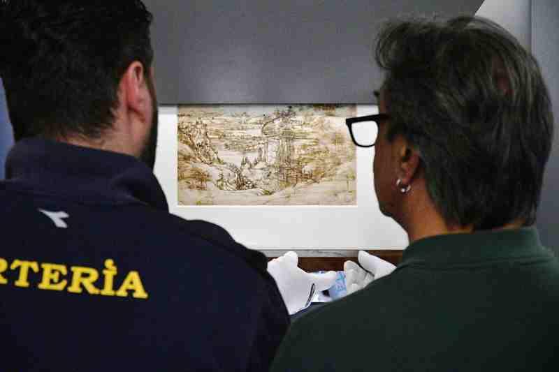 Sergio Mattarella celebra Leonardo a Vinci a 500 anni dalla sua morte