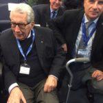 da sinistra prof Luigi Donato e Giorgio Iervasi direttore di Ifc Cnr