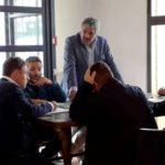 Tavoli programmatici con il candidato del centrosinistra Francesco Mauro