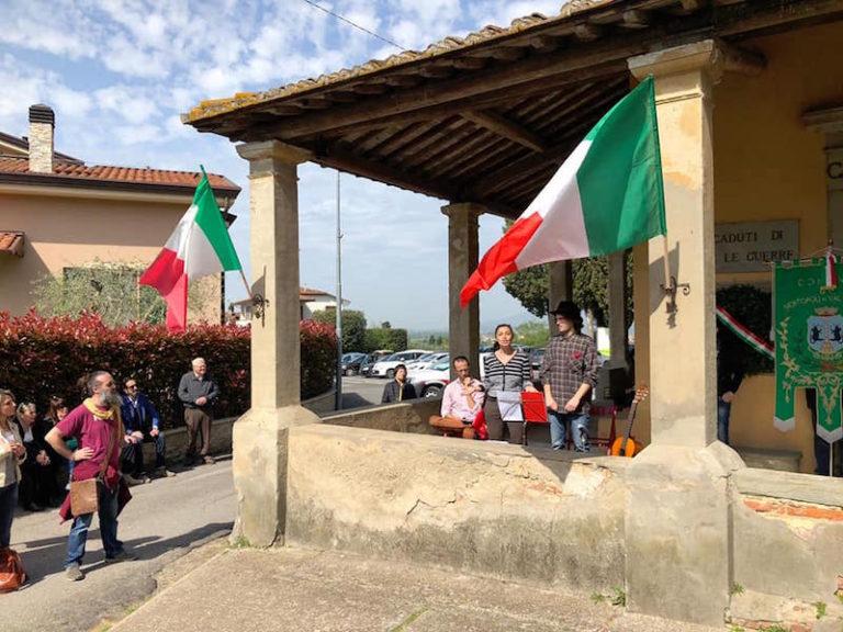 Le celebrazioni a Montopoli (foto da Facebook)