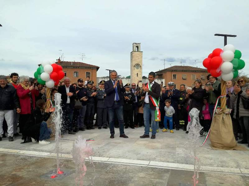 piazza Mazzini a Poggibonsi