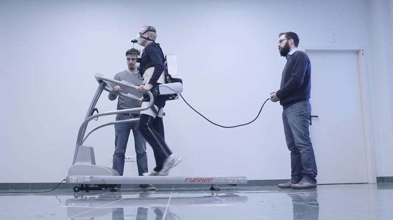 Sant'Anna su Scientific Reports: Bacino robotico non solo riabilita, ma aiuta gli anziani