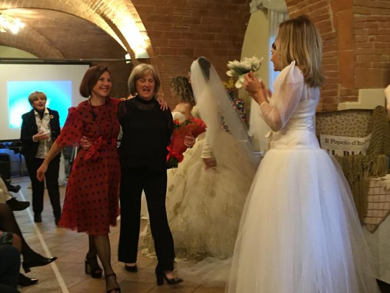 Carla Mancioli con Morena Rinaldi