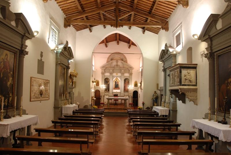 La Croce dipinta di Martini ritorna a San Casciano