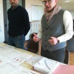 Spinelli presenta il progetto insieme all'assesore Sabatini