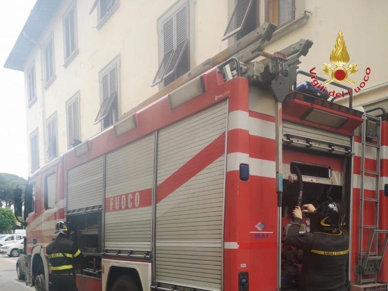 Dissesto statico per infiltrazioni d'acqua, due famiglie evacuate a Castelfranco