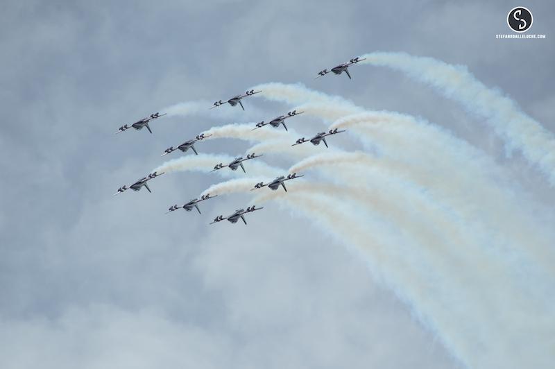 Air Show, le pattuglie acrobatiche arrivano a Pisa: la fotogallery