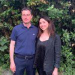 Giulia Biagioli e Marco Tortora