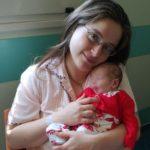 Chiara con la sua mamma