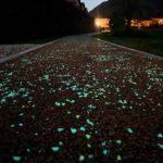 La pista ciclabile luminescente in Lucchesia 2