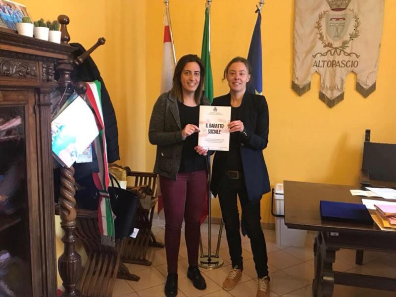 Sara D'Ambrosio e Ilaria Sorini