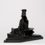 08_Boccioni Umberto sviluppo di una bottiglia nello spazio 1912(1935) bronzo cm 38x59,5x32