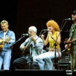 24 Luglio 2002 - Mannoia - Daniele - De Gregori - Ron - Stadio Artemio Franchi - -® New Press Photo pic