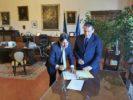 Prefetto di Pisa, Giuseppe Castaldo Firma Protocollo con DnR